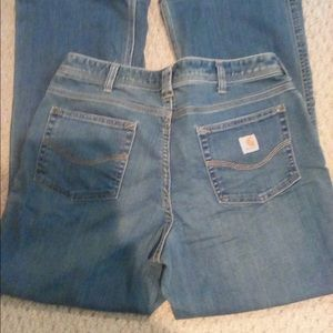 Carhartt original fit jeans size 10